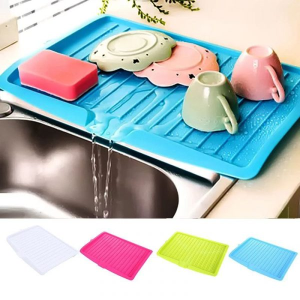 Sink Dish Drainer Tray